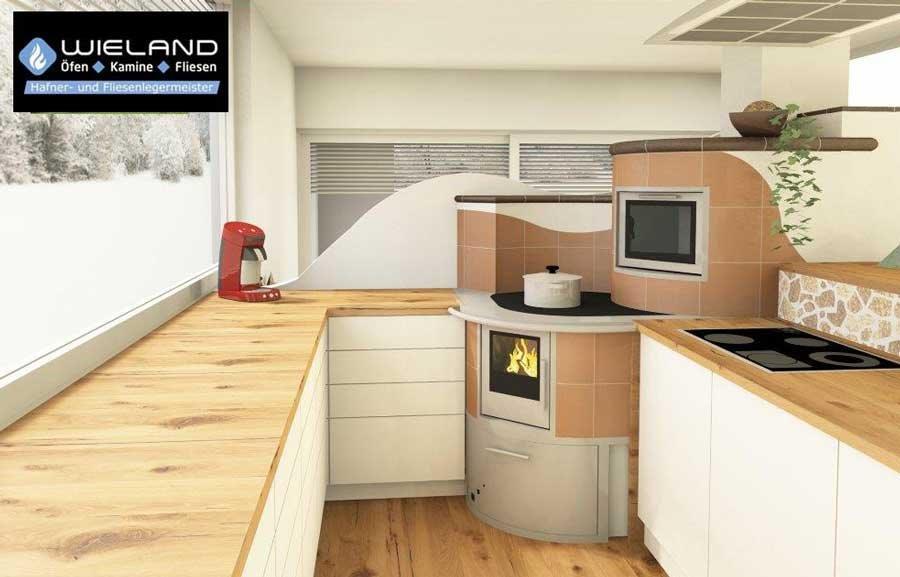 Wieland - Öfen, Fliesen, Kamine - CAD Planung Kachelöfen, Heizkamine, Küchenherde